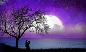 Amoureux sous la lune 2
